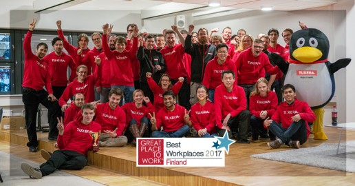 Tuxera – Great Place to Work 2016