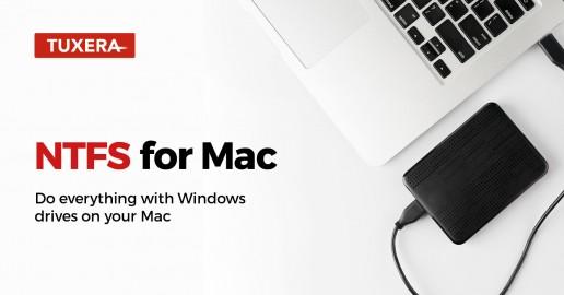 Tuxera NTFS for Mac 2018 – full read-write compatibility