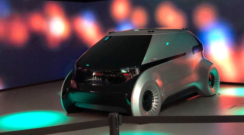 Tuxera CES 2019 Car trends
