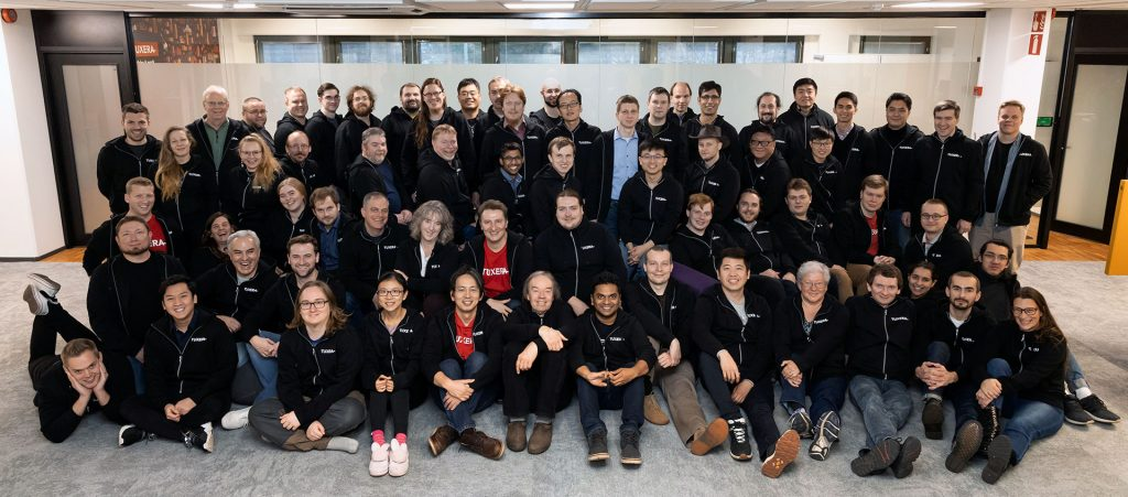 Tuxera employees, full team 2019